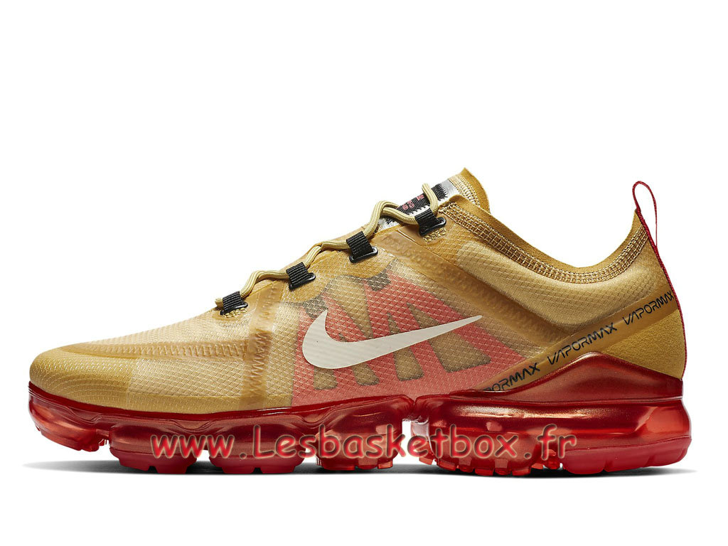 Nike Air VaporMax 2019 Crimson Gold AR6631_701 Chaussures Runing Prix  Pour Homme