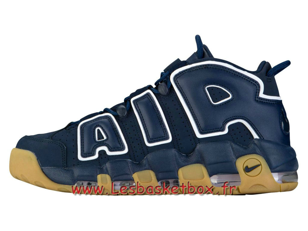 Basket Nike Air More Uptempo 96 Obsidian 921948_400 Chaussures Nike Prix Pour Homme