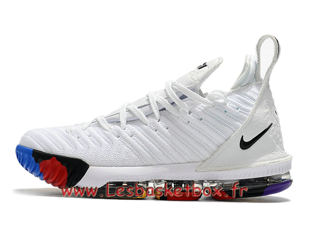 Basket Nike Lebron 16 Blanc Chaussure Nike Pas Cher Pour Homme