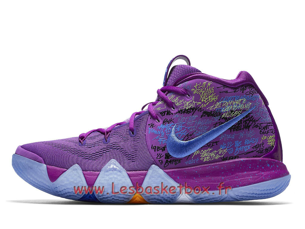 Chaussures Basket Nike Kyrie 4 EP Confetti  Nike Release 2018 Pour Homme