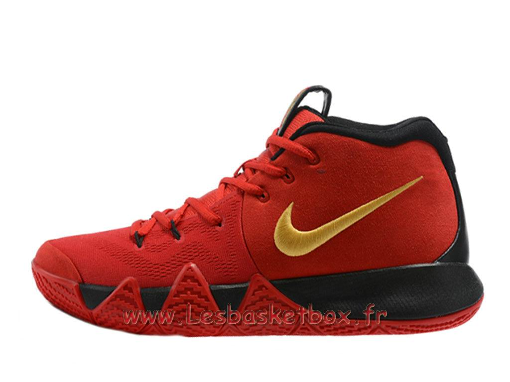 Chaussures Basket NIKE Kyrie 4 Rouge Nike Pas Cher Pour Homme