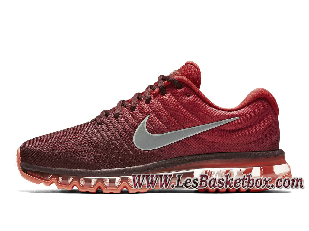 Nike Air Max 2017 849559_601 Night Maroon Chaussures Nike Sportwear Prix Pour Homme