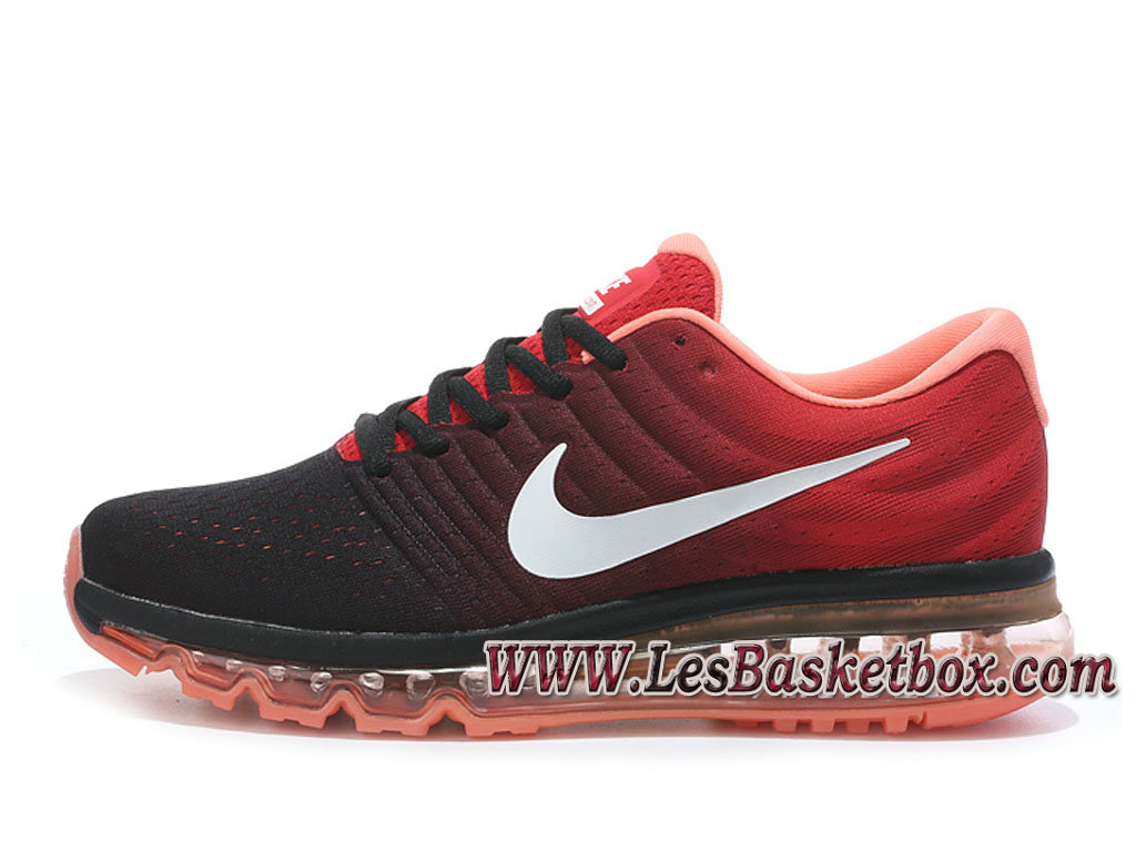 Nike Air Max 2017 Noir/Rouge 849559_ID2 Chaussures Nike Sportwear Pas Cher Pour Homme