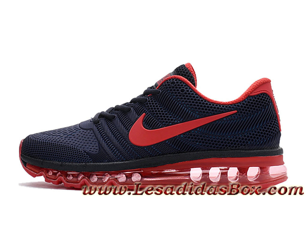 Nike Air Max 2017 Tpu Chaussures Officiel Nike Pour Homme Deep Bleu Rouge