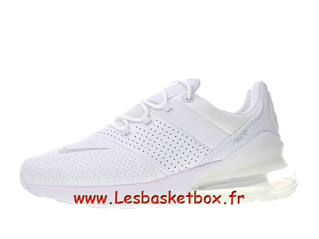 Nike Air Max 270 Premium White AO8283_100 Chaussures Basket Prix Pour Homme