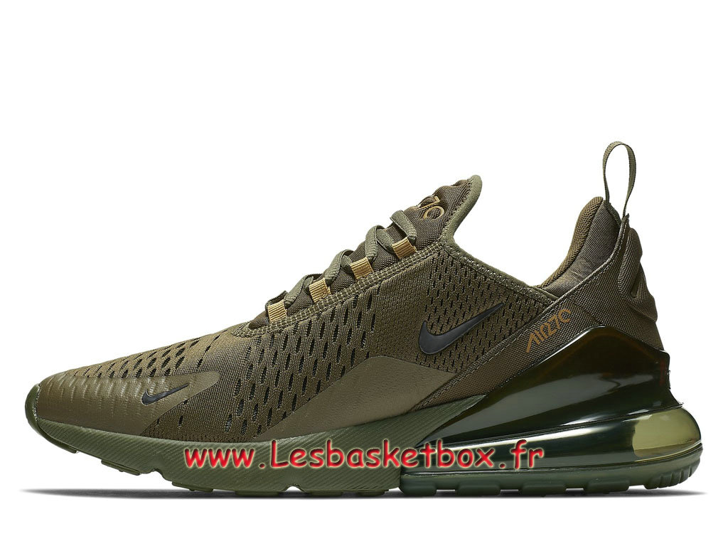 Nike Air Max 270 triple Olive AH8050_301 Chaussures Basket Nike pour Homme