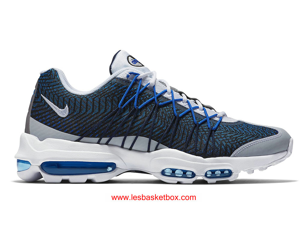 "Nike Air Max 95 Ultra Jacquard ""Midnight Navy"" Officiel Femmes Chaussure 749771-401"