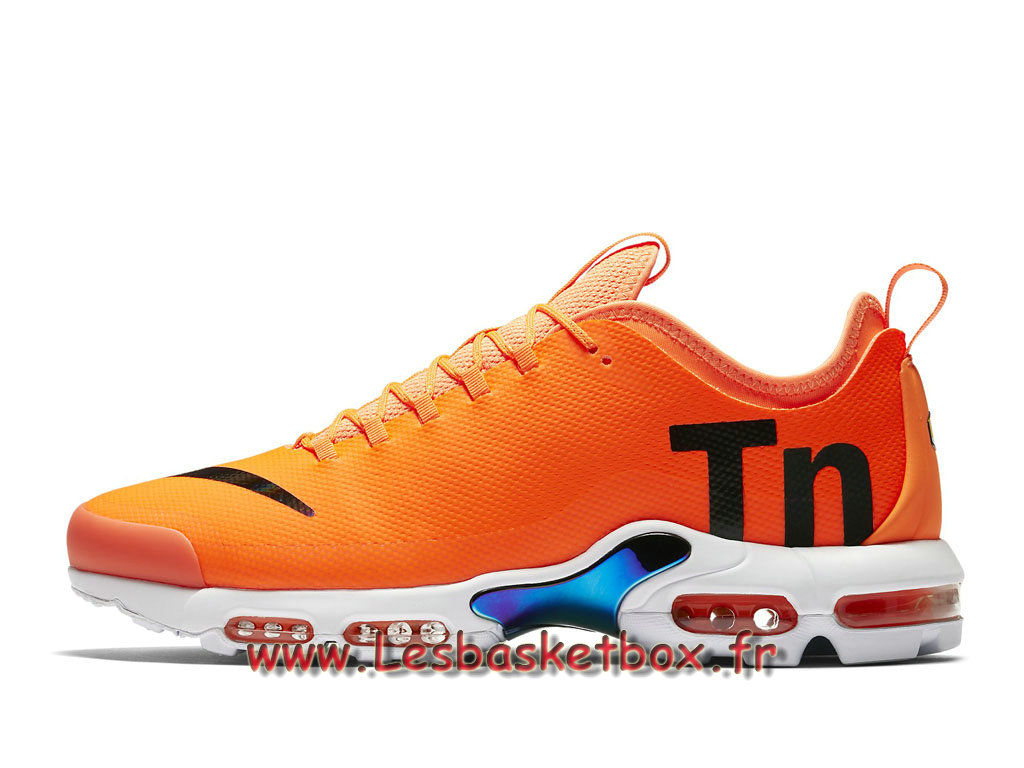 Nike Air Max Plus TN Ultra SE Orange AQ0242_800 Chaussures Requin 2018 Pour Homme Orange