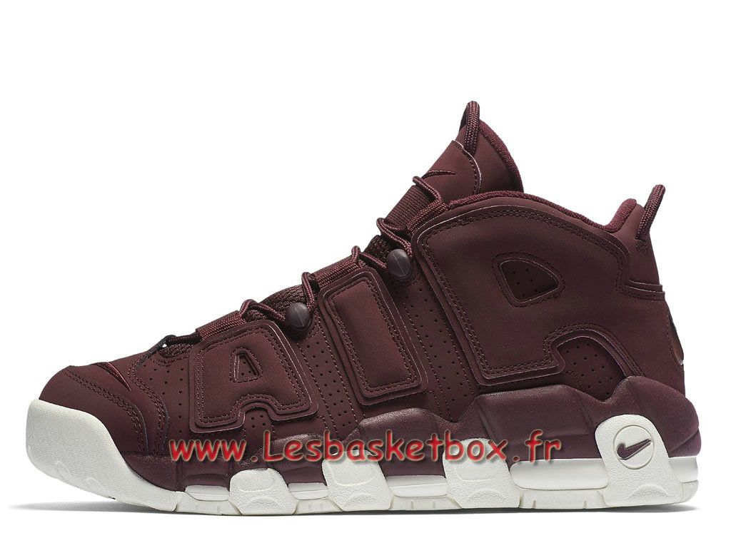 Nike Air More Uptempo 96 Qs Night Maroon 921949_600 Chaussures Nike Release 2017 Pour HOmme ROuge