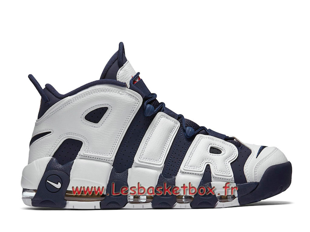 Nike Air More Uptempo Scotty Pippen Olympic 414962-401 Homme Nike Basket Blanc