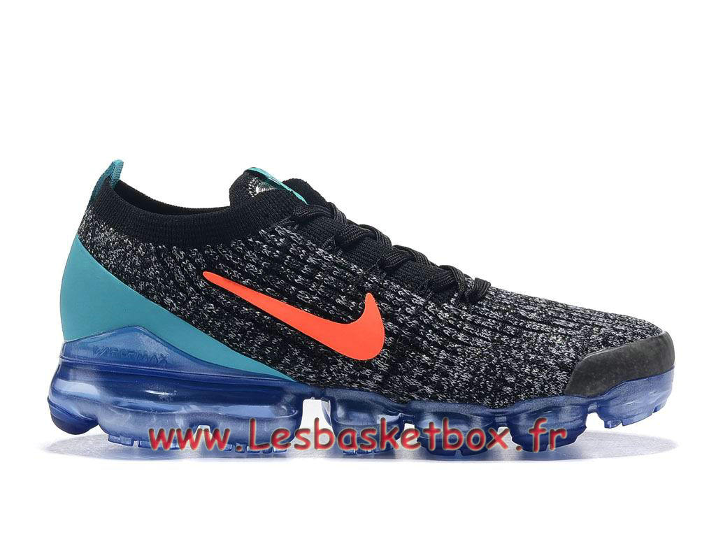 Nike Flyknit Air Vapormax 2019 Black Hot Punch AT6910_ID4 Chaussures Officiel Pas cher Pour HOmme