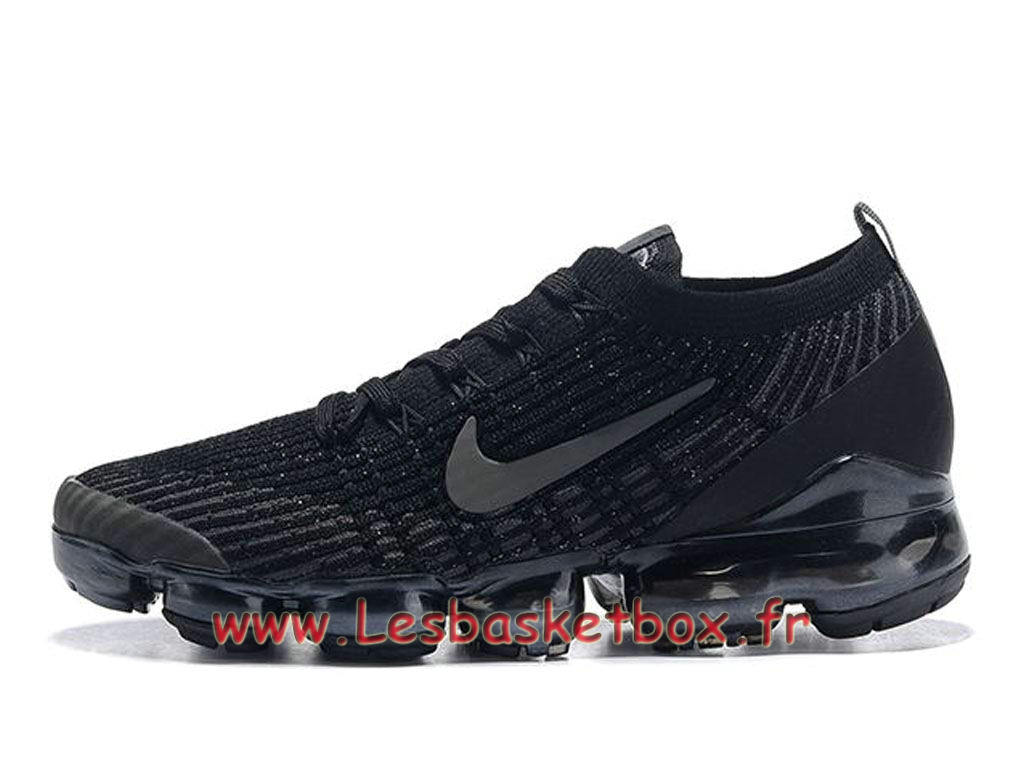 Nike Flyknit Air Vapormax 2019 Cool noires AT6910_001 Chaussures Basket Prix Pour HOmme