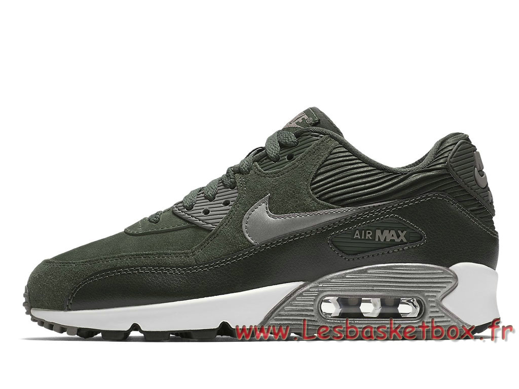 Nike WMNS Air Max 90 LTR Carbon Green 768887_301 Femme/Enfant Nike Prix Chaussures Vert