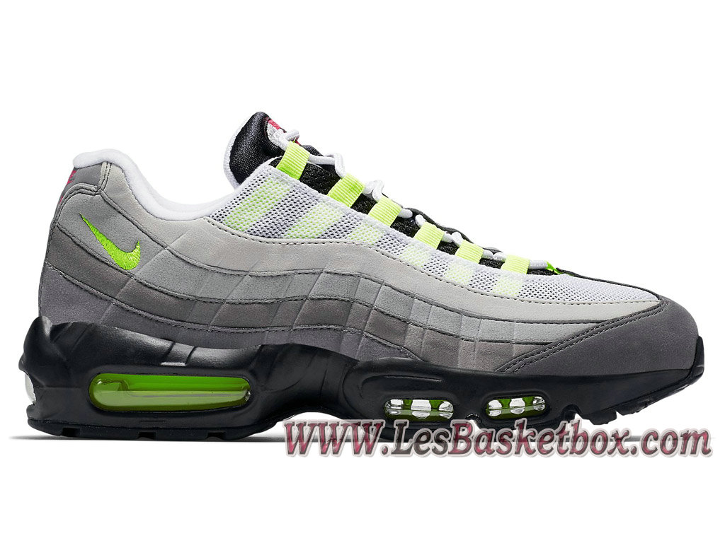 Nike Wmns Air Max 95 OG ´What The´ 810375-078 Femme/enfant Gris/Vert nike Prix