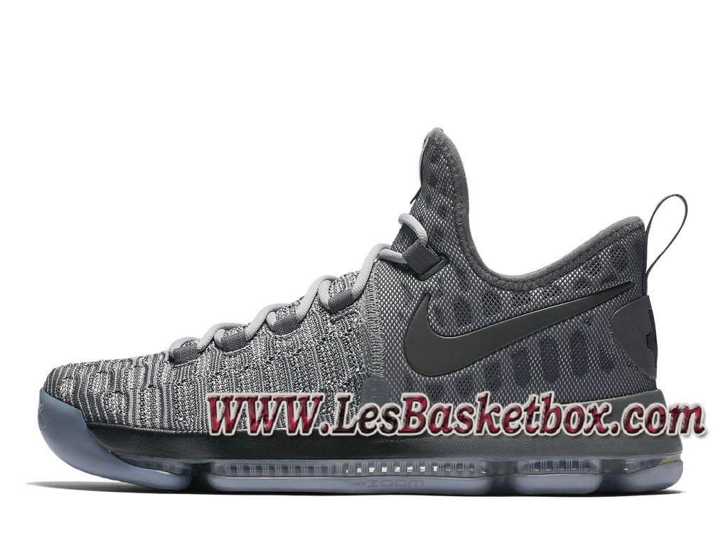 Nike Zoom KD 9 Battle Grey Pack 843392_002 Chaussure Officiel Nike de basketball pour Homme