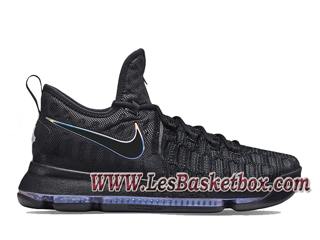 Nike Zoom KD 9 On Court 843392-410 Chaussure NIke pas cher de basketball pour Homme