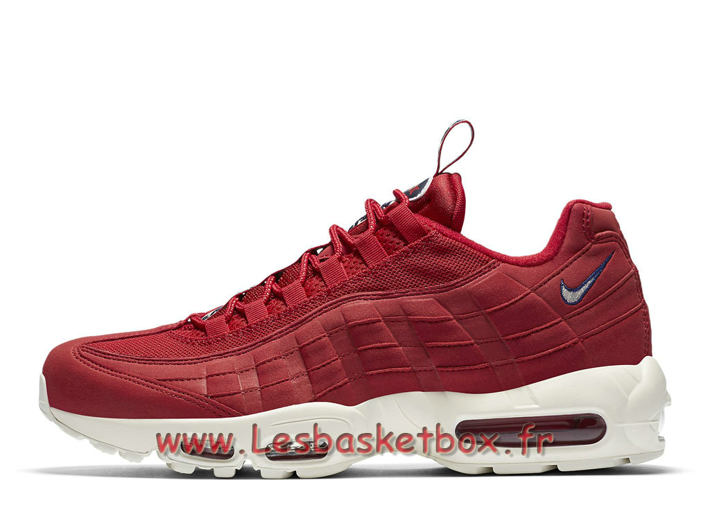 Run Nike Air Max 95 TT Gym Red AJ1844_600 Chaussures Nike Sportwear Pour Homme Rouge