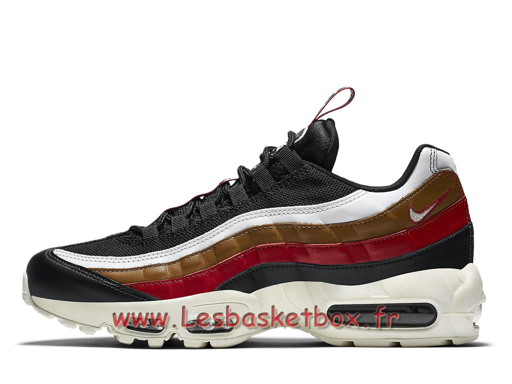 Run Nike Air Max 95 TT Navy Rouge Marron AJ4077_002 Chaussures Nike Officiel Pour Homme