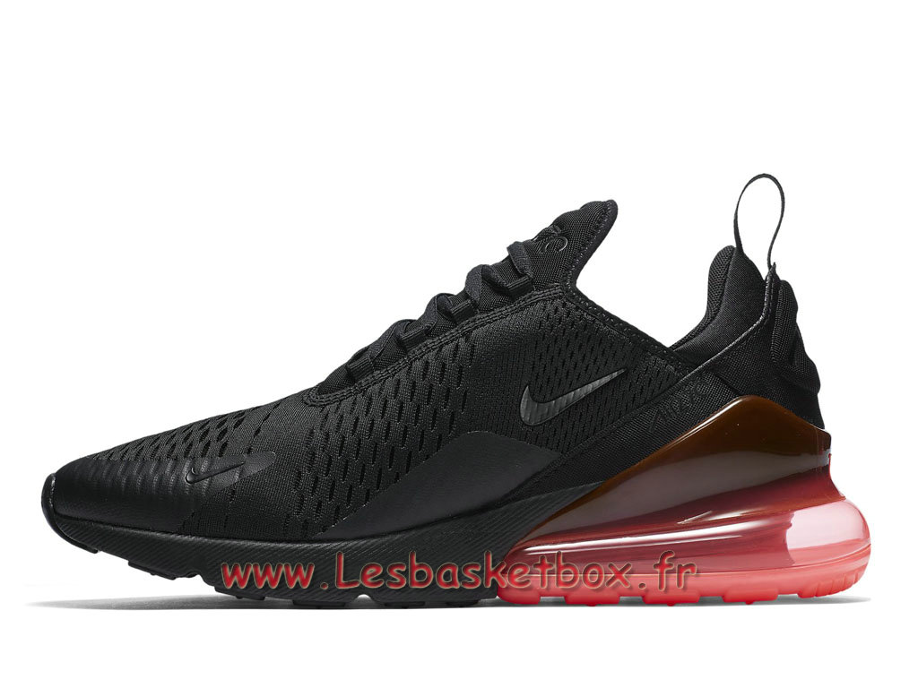 Running Nike Air Max 270 Hot Punch AH8050_010 Chaussures NIke Officiel Pour Homme Noires