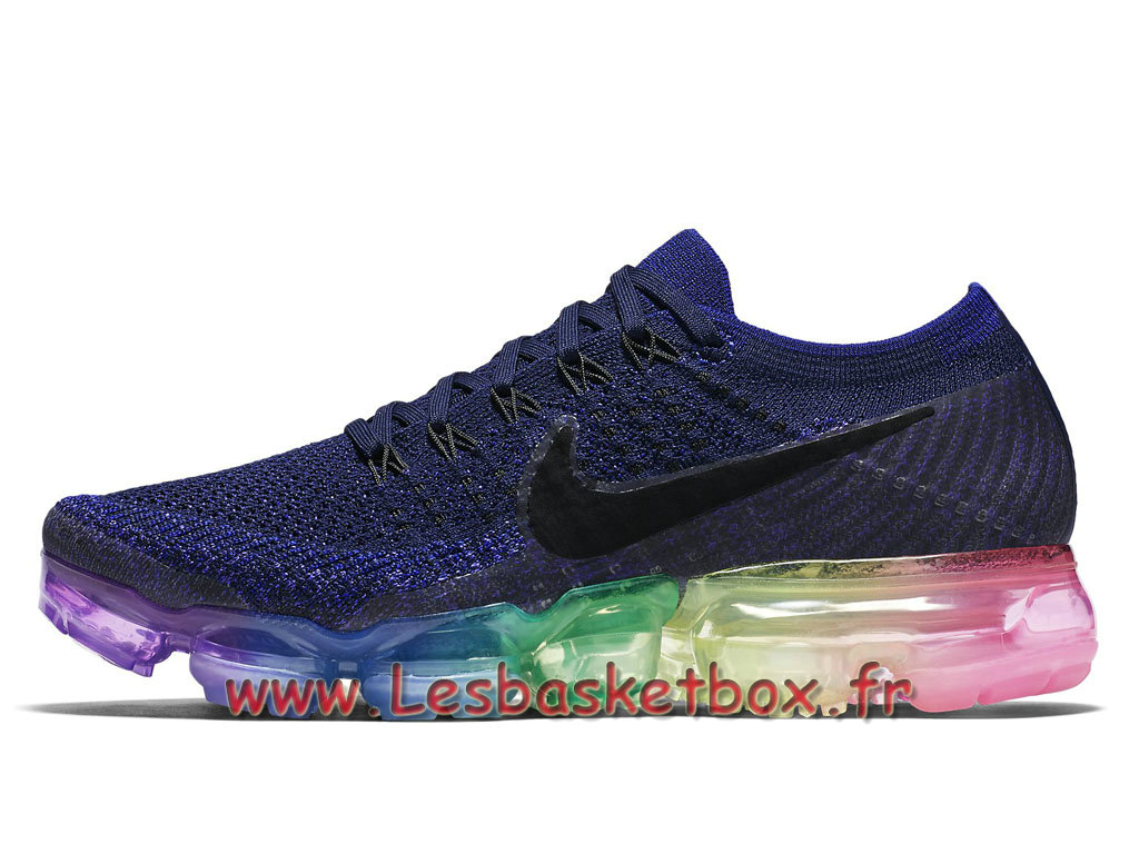 Running Nike WMNS Air Vapormax Flyknit Be True 883274_400 Chaussures Nike pas cher Pour Femme/enfant