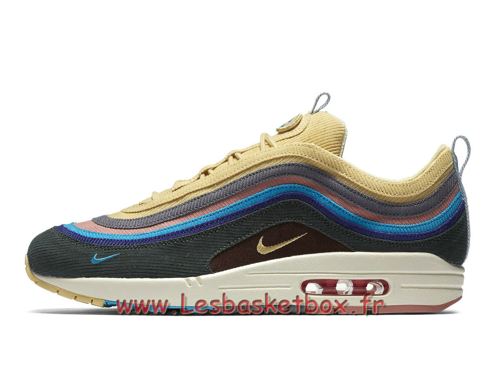 Running Sean Wotherspoon x Nike Air Max 97/1 AJ4219_400 Chaussures Officiel 2018 Pour Homme Color