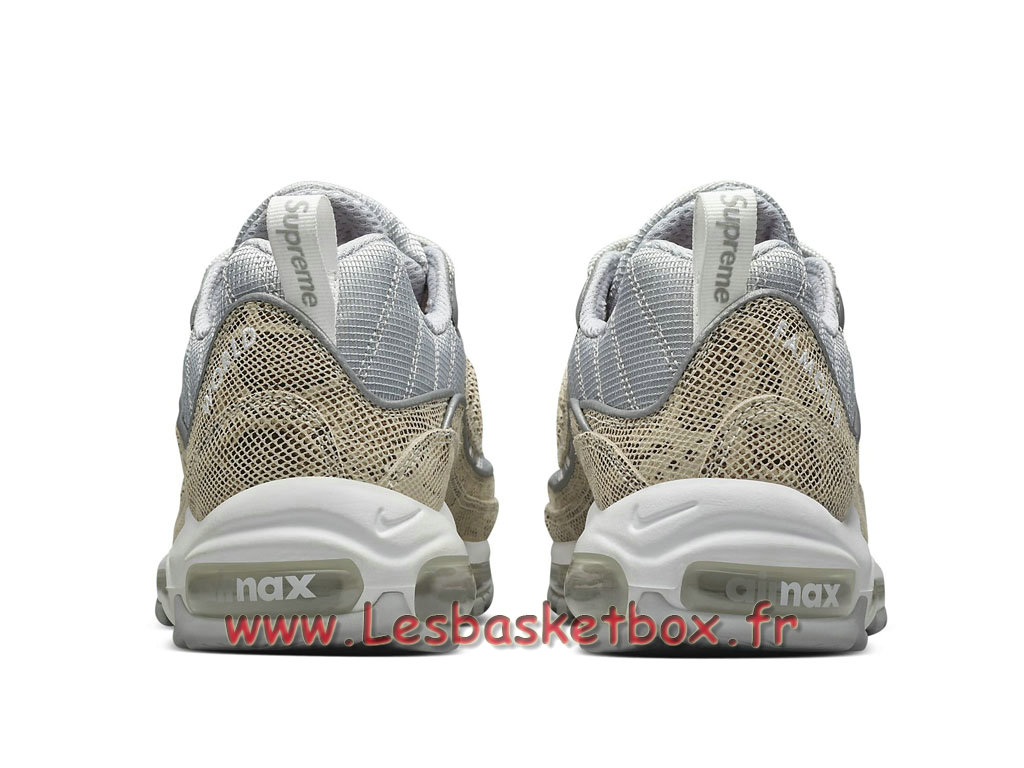 Running Supreme x Nike Air max 98 Preview 844694_100 Chaussures NIke Pas cher Pour Homme Or