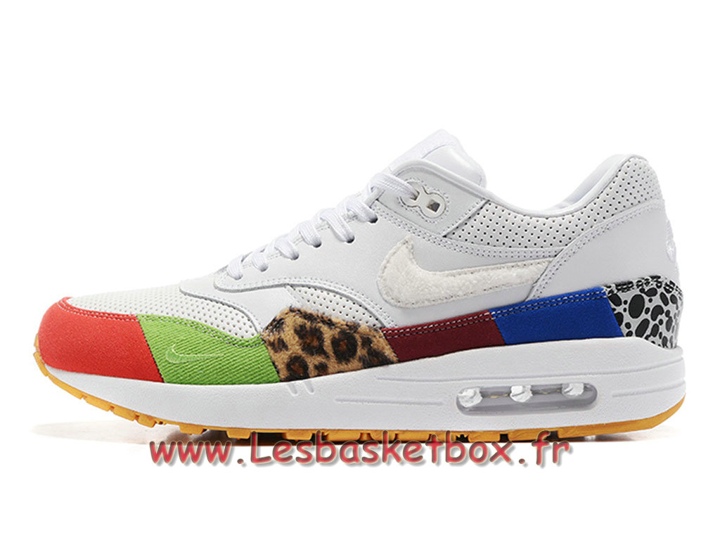 Running Where To Buy Nike Air Max 1 Blanc Color Chaussures NIke Prix Pour Homme